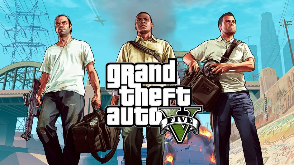 GTAV V, Grand Theft Auto V, jeu-video